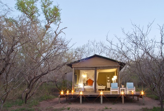 Safari Tent at Ngama Lodge
