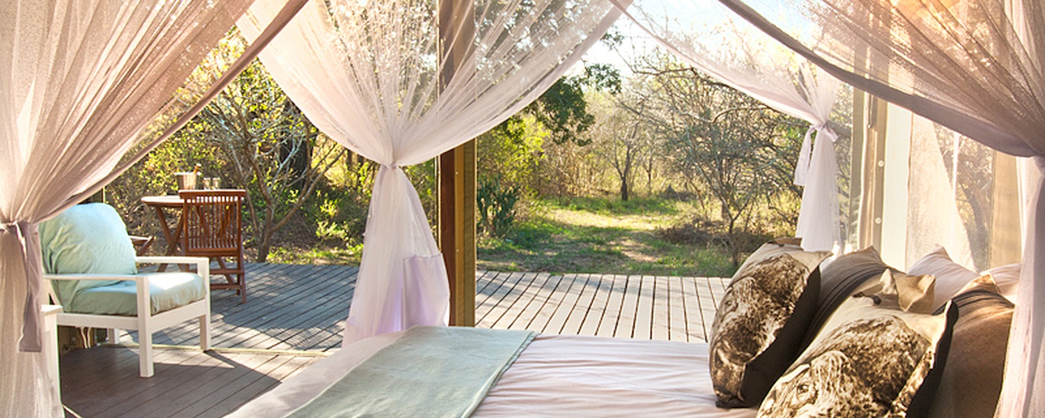 Luxury Tented Camp at Ngama Lodge